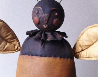 Primitive Bee Doll Pattern