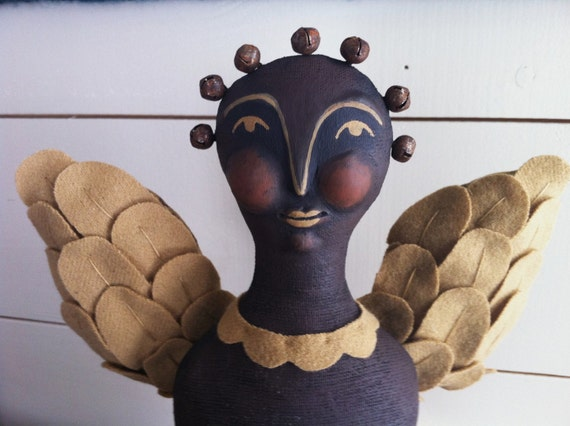 Primitive Folk Art Seraphim Angel Pattern ETSYFOLK