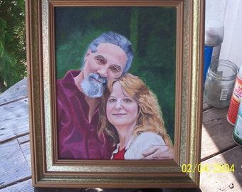 custom painted portrait 11X14