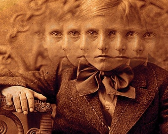 Creepy Little Child no 5...Open Edition - 10 x 8