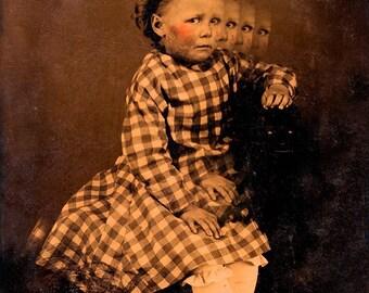 Creepy Little Child no 2...Open Edition - 7 x 5