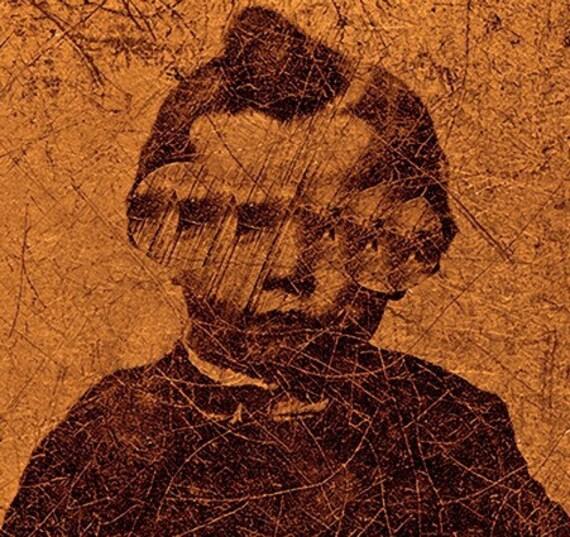 Creepy Little Child no 15...Open Edition-8x10