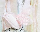 Christmas Decor Nursery Decor Baby Girl Wedding Cake Topper Pink Fairy Bird