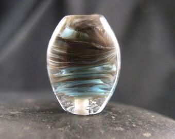 SALE - Still Life - Southwest Storm - Lampwork Focal Bead - Libelula Designs, SRA