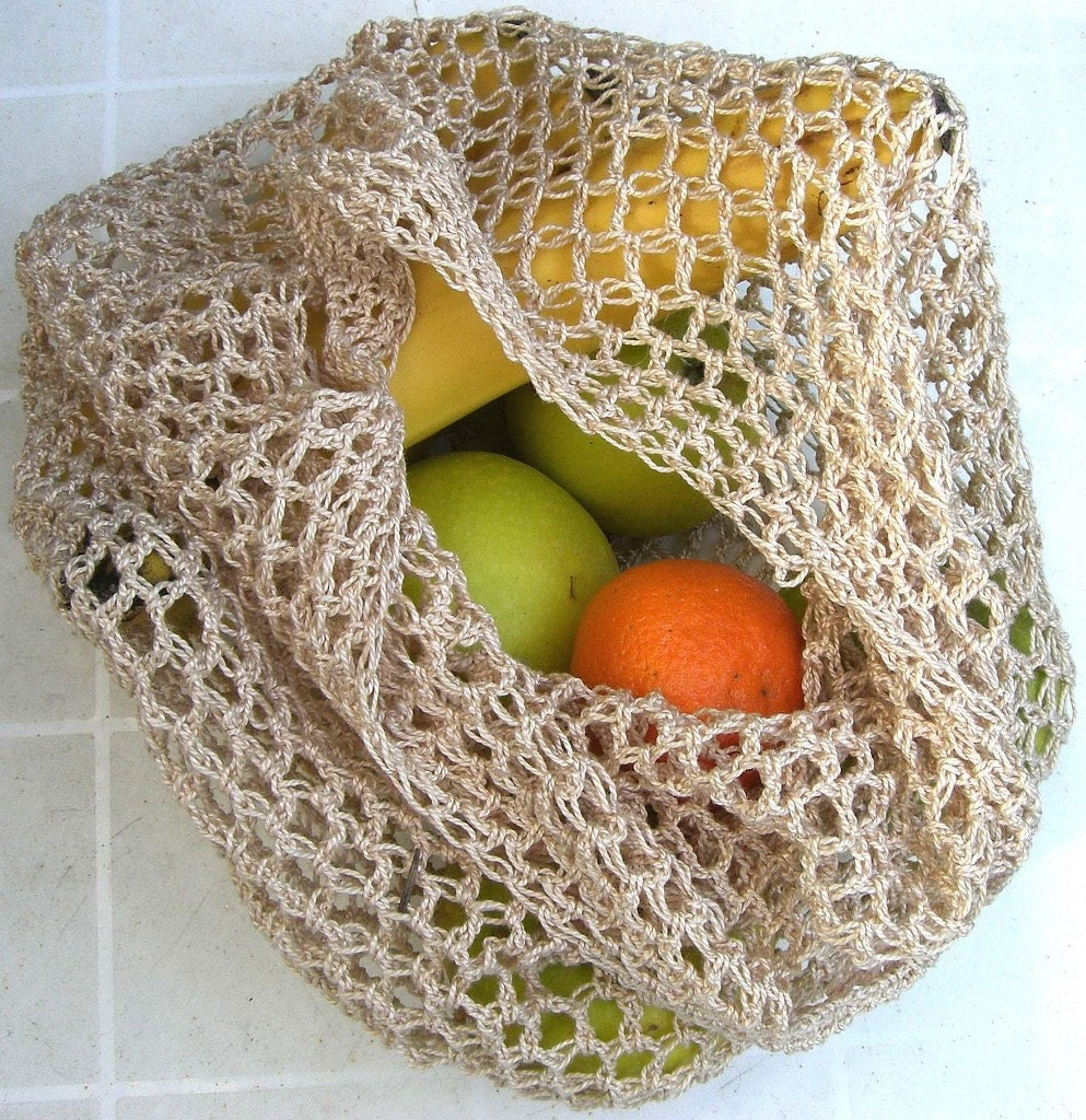 String Bag Crochet Pattern : All Bags & Purses