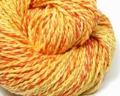 Citrus Handspun Hand-Dyed Yarn (cotton\/tencel, 78 yards)