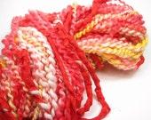 Firecracker Handspun Hand-Dyed Yarn (wool\/mohair\/silk, 73 yards)