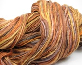 RESERVED FOR IVY Copper Glow Handspun Hand-Dyed Yarn (wool, 195 yards)