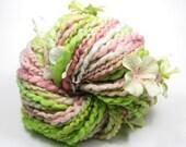 First Blooms Handspun Hand-Dyed Yarn (wool, 73 yards)