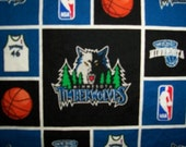 Minnesota Timberwolves Cotton Fabric