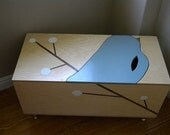 The Maude Toy Box with Book Cubby - Shipping Included