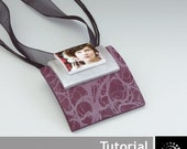 "Polymer Clay PDF Tutorial ""Brooch/Pendant with Transfers"""