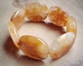 Honey Calcite Stone Bracelet