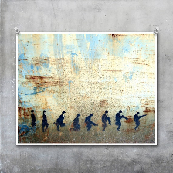 SALE 20% OFF - Ministry of Silly Walks Photograph, 10x8 inch trimmed funny humorous Monty Python photo print