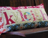 Whats in a Name-Funky Funky Personalized Patchwork Name Pillow-The PERFECT Gift