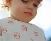 Organic Baby Bib - All Smiles