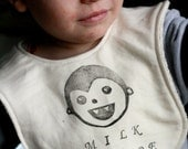 Milk Vampire Organic Bib RESERVED FOR HONSEI