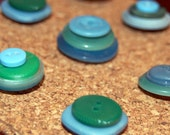 Sprinkles Button Push Pins - Ocean Mix 21