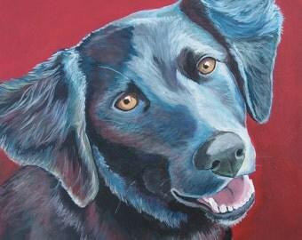 "Custom 12' x 12"" Pet Portrait"