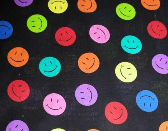Yellow And Black Polka Dot Background Bright polka dot Smile...