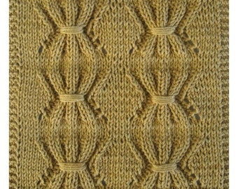 PDF October's Fall Harvest Cloth Pattern, from our Seasonal Dishcloth Series - FALL Dishcloths