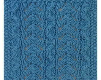 PDF July's Deep Sea Fishing Cloth Pattern, from our Seasonal Dishcloth Series - SUMMER Dishcloths