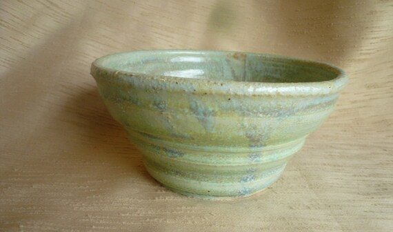 light blue ceramic bowl