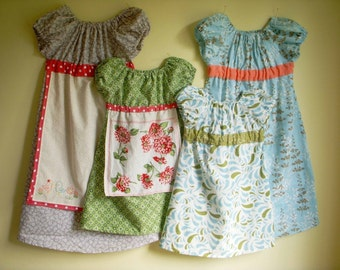 Miss Madeline Dress Pattern 5 - 10 years Instant Download