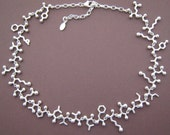 endorphin choker necklace in solid sterling silver