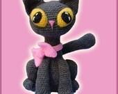 Amigurumi Pattern Crochet Jinxy Kat Cat Kitten Doll DIY Digital Download