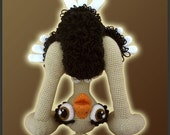 Amigurumi Pattern Crochet Olga Ostrich Bird DIY Instant Digital Download PDF