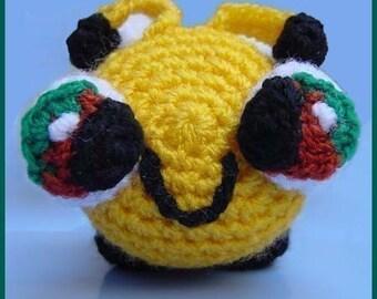 Amigurumi Pattern Crochet Beeby Baby Bee DIY Instant Digital Download DIY
