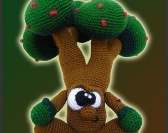 Amigurumi Pattern Crochet Mr Tree Doll DIY Digital Download