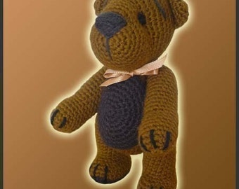 Amigurumi Pattern Crochet Teddy Bear DIY Instant Digital Download PDF