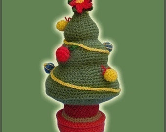 Amigurumi Pattern Crochet Christmas Tree DIY Digital Download