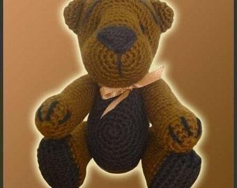 Amigurumi Pattern Crochet Teddy Bear DIY Digital Download