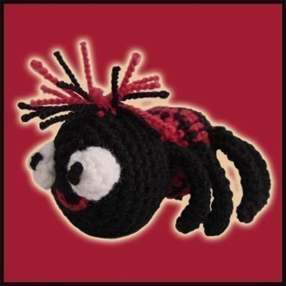 Amigurumi Pattern Crochet Betsy Spider DIY Instant Digital Download PDF
