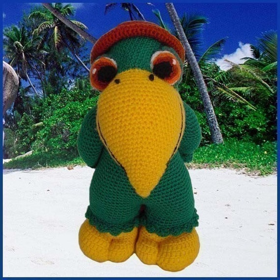 Amigurumi Quito : Amigurumi Crochet Pattern PDF Paquito The by DeliciousCrochet