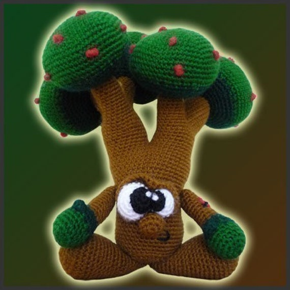 Amigurumi Pattern Crochet - Mr. Tree