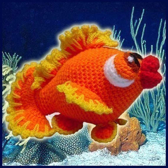 Amigurumi Goldfish : Amigurumi Pattern Crochet Bubbles the little by ...