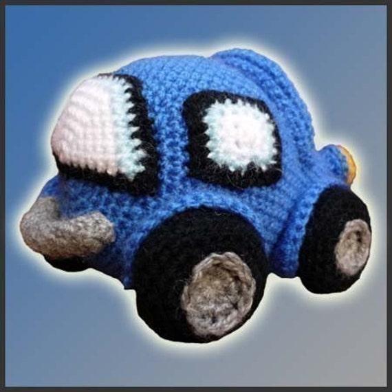 Patron Amigurumi Car : Amigurumi Pattern Crochet Little Car DIY by DeliciousCrochet