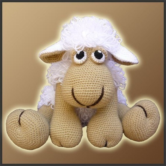 Amigurumi Pattern Crochet - Elton, The Sheep