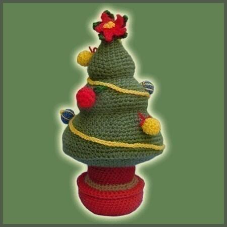 Amigurumi Christmas Tree Patterns : Amigurumi Pattern Crochet Christmas Tree DIY Instant Digital