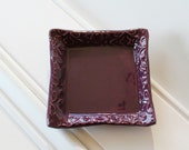 Square Clay Trinket Dish