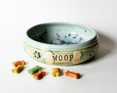 Extra Large Pet Food Bowl, Food or Water Vessel Bowl, ready to ship, Handmade