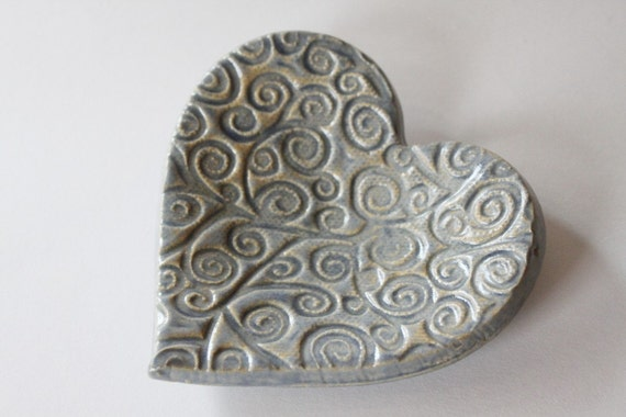 One Heart for Ring Catcher or Trinket Dish