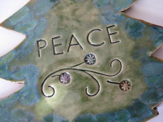 Peace at Christmastime Tree