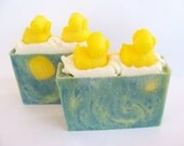 Little Ducky Soap Olive Oil - Shea Butter Blend - Last Bar - Citrus Scented - Great Baby Shower Gift