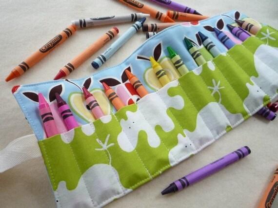 Little Artist Crayon Roll 12 counts - BEST FRIENDS