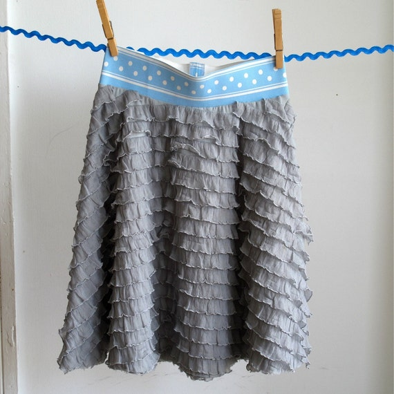 Girls' Skirt, Twirly Girls' Ruffle Skirt, Girls' Petticoat, Tween Skirt, Toddler Skirt, Circle Skirt, Size 12 - 18 Months to Girls Size 10